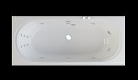 "Ванна акриловая ""Figaro"" 180*80 система HydroPLUS"