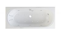 "Ванна акриловая ""Figaro"" 180*80 система HydroAeroOPTIMA"